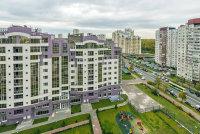 Вид на многоэтажные дома. Минстрой утвердил среднюю рыночную стоимость жилья в регионах